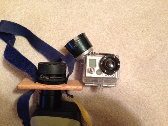 Oscilloscope With Camera Mount : Camera information